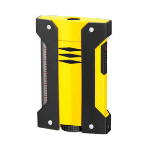 S.T. Dupont DEFI EXTREME Yellow Cigar Torch Lighter