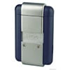 Lotus L220 Torch Flame Lighter Blue Matte & Chrome