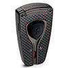 Lamborghini Forza Cigar Torch Lighter Black and Red Carbon Fiber