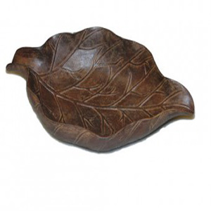 Boca Grande Tobacco Leaf Cigar Ashtray Maduro