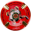 Arturo Fuente Hands of Time Ashtray Red