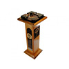 Padron Ashtray Pedestal Wooden