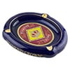 Diamond Crown Blue Oval Cigar Ashtray