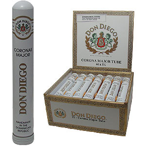 Don Diego Corona Major Tubes Cigars