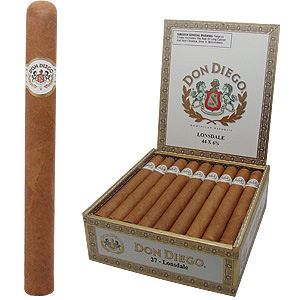 Don Diego Lonsdale Cigars