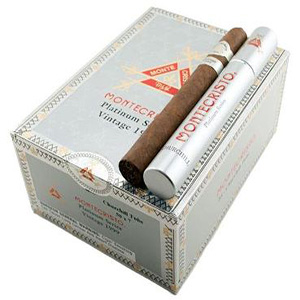 Montecristo Platinum Churchill Tube Cigars