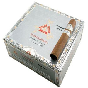 Montecristo Platinum Robusto Cigar Box