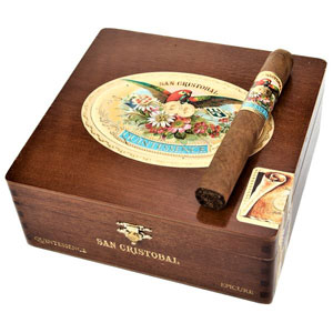 San Cristobal Quintessence Epicure Cigars Box