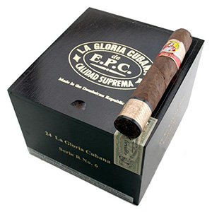 La Gloria Cubana Serie R No.6 Natural Cigars Box of 24