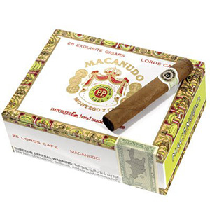 Macanudo Cafe Lords Cigars