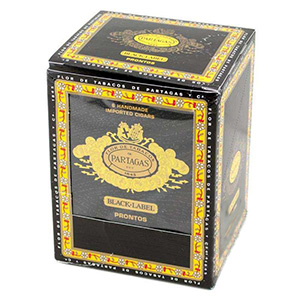 Partagas Black Label Pronto Small Cigars 5 Tins of 6