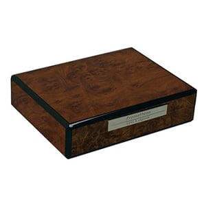 Prometheus Walnut Travel Humidor