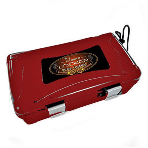 Travel Humidor Red