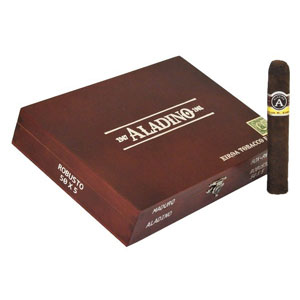 Aladino Maduro Robusto Cigars Box
