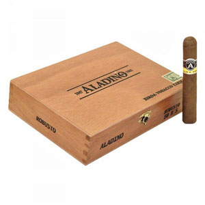 Aladino Robusto Cigars Box
