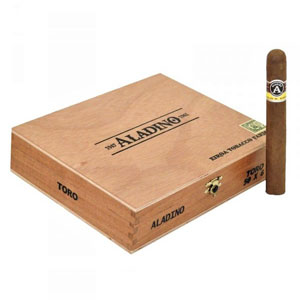 Aladino Toro Cigars Box