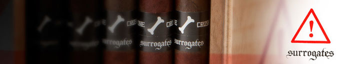 Surrogates Cracker Crumbs Small Cigars